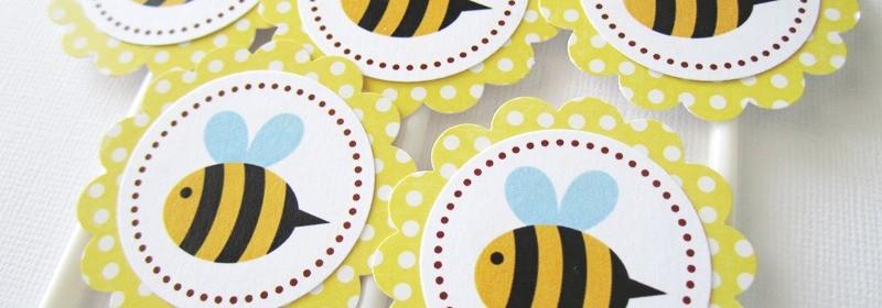 Topper de abelhinha