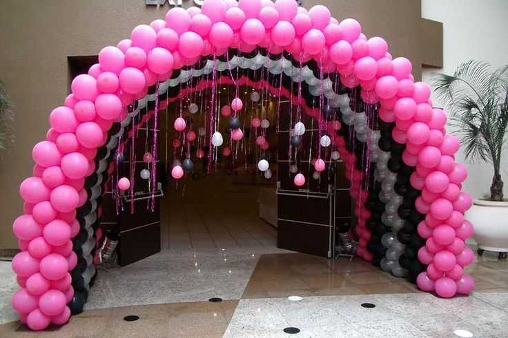 arco de balão decoração