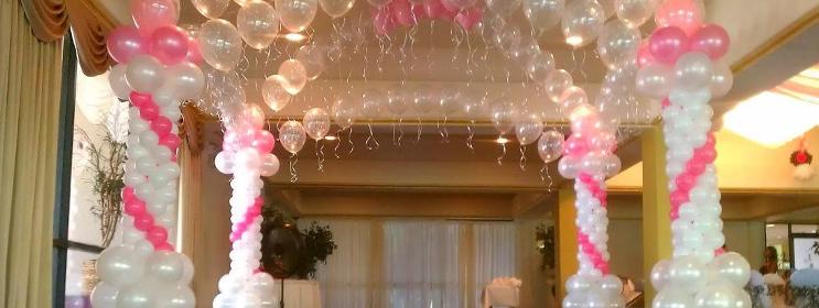 como fazer festa infantil com balões