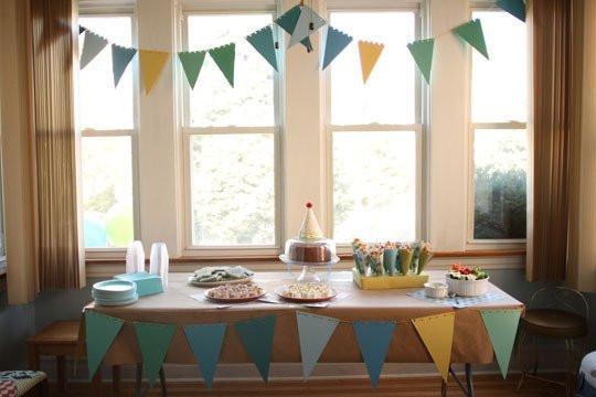 como fazer uma festa infantil em casa