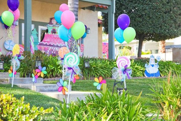 decoração de festa infantil caseira
