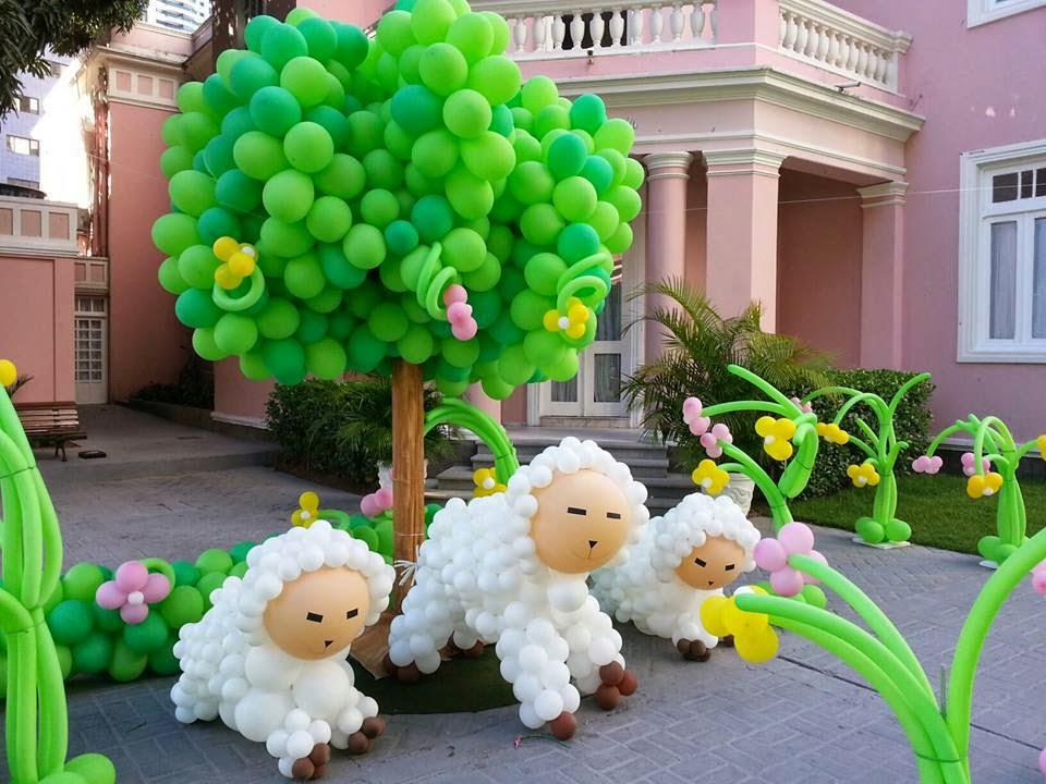festa com balões - decoração infantil