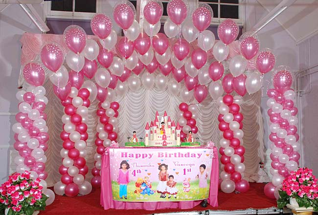 festa infantil com balões