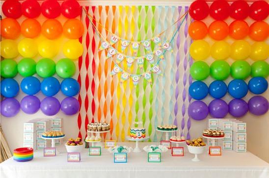 festa infantil parede de balões