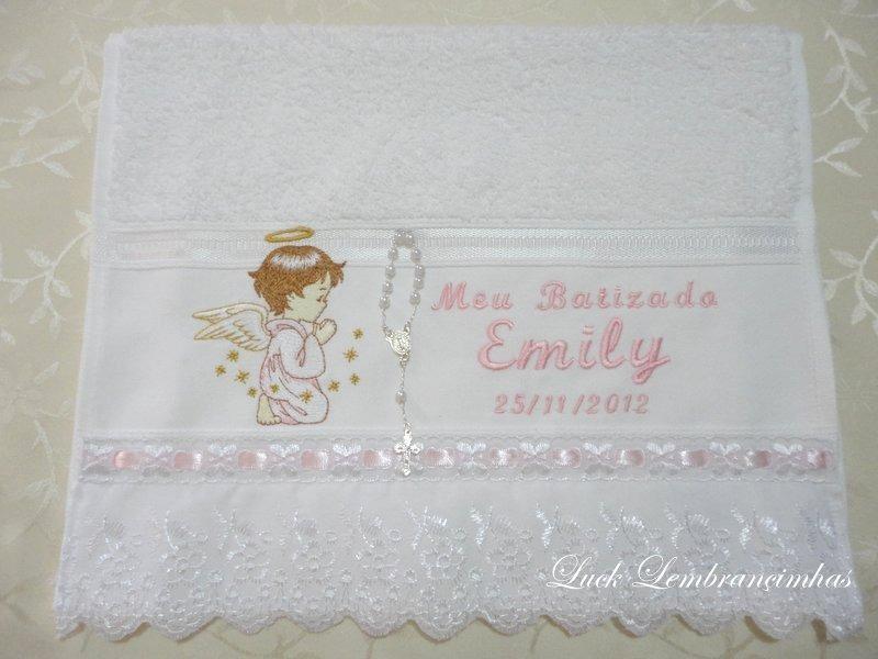 lembrancinha de toalha