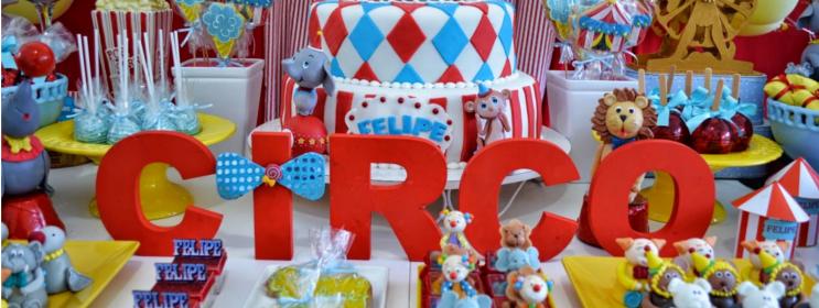 Decoração de Circo - Fotos e Dicas