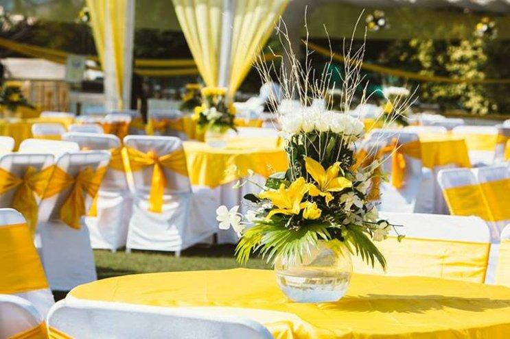casamento de dia - decoração